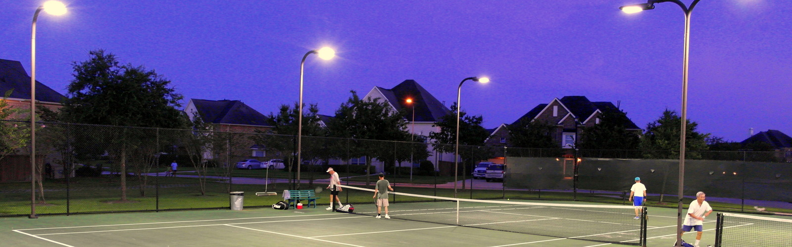 LED Tennis Court Lighting in Houston, Texas