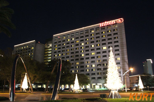 Hilton Holiday Lighting